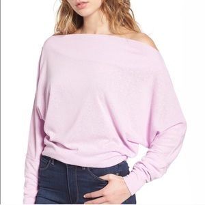 Free People Off the Shoulder Pullover Sweater